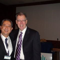 With Dr. Barry Sears (USA)